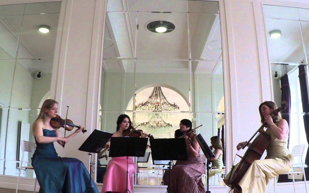 Van Bach tot Bruno Mars; van Vivaldi tot Viva La Vida… Het Strijkkwartet heeft het allemaal!